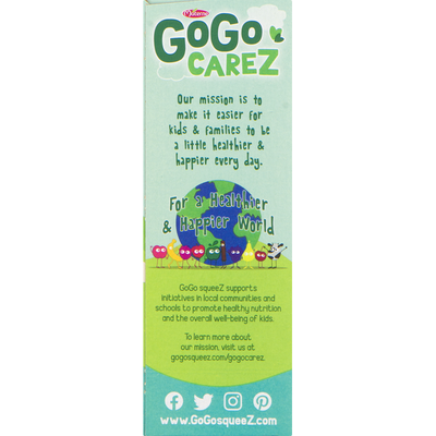 GoGo Squeez Applesauce, Gimme Five, 4 Pack