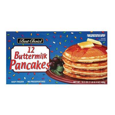 Best Choice Buttermilk Pancakes