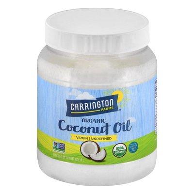 Carrington Farms Coconut Oil, Organic, Virgin, Unrefined