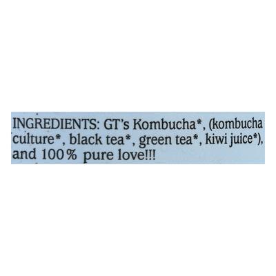 GTs Raw Kombucha, Organic, Original