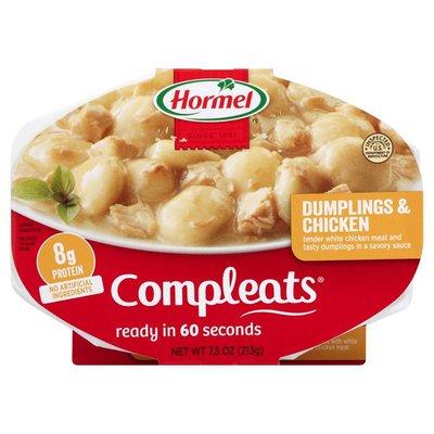Hormel Dumplings & Chicken