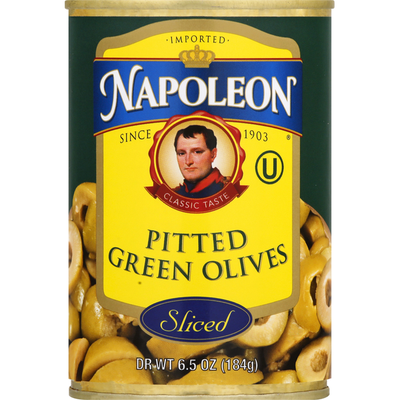 Napoleon Co. Sliced Green Olives