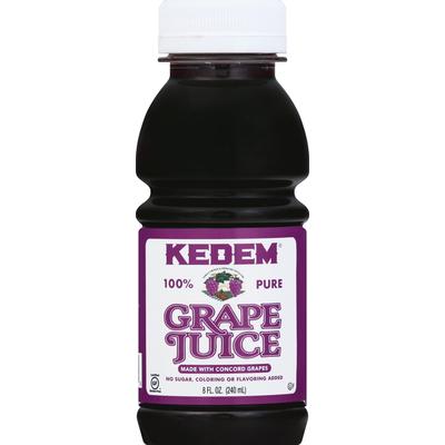 Kedem Grape Juice, 100% Pure