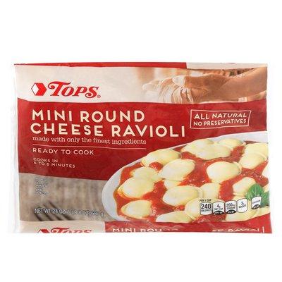 Tops Mini R&d Cheese Ravioli