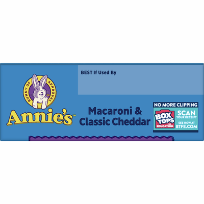 Annie's Classic Cheddar Macaroni and Cheese, Pasta & Mac and Cheese