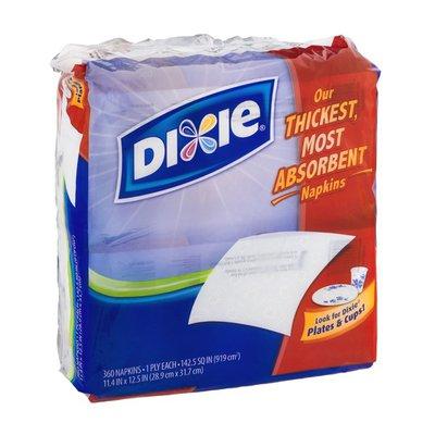 Dixie Napkins White - 360 CT