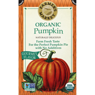 Farmer's Market Pumpkin, Organic