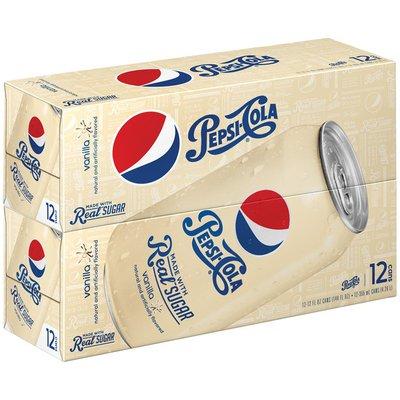 Pepsi Vanilla Made with Real Sugar Cola