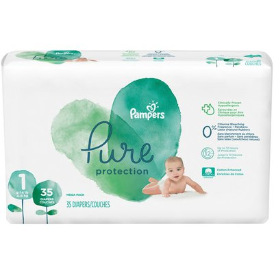 Pampers Newborn Diapers Size 1