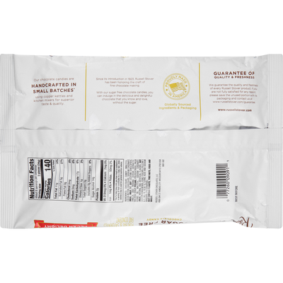 Russell Stover Chocolate Candy, Sugar Free, Pecan Delight