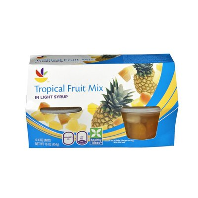 SB Tropical Fruit Mix in Light Syrup - 4 CT