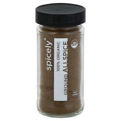 Spicely Allspice, Ground, 100% Organic