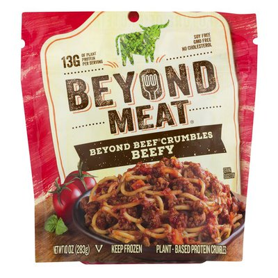 Beyond Meat Crumbles Beefy Plant-Based Crumbles
