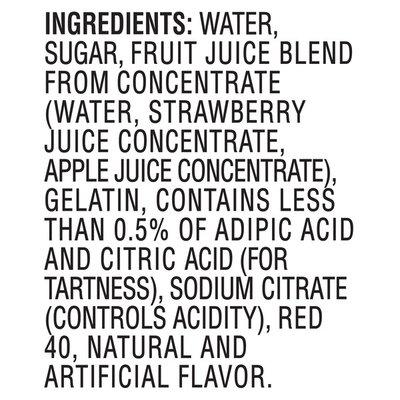 Jell-O Original Strawberry Ready-to-Eat Jello Cups Gelatin Snack