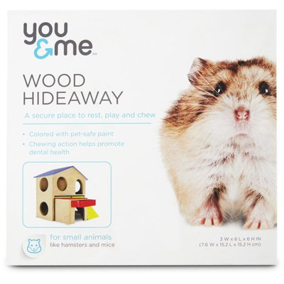 You & Me Wood Hideaway House for Small Animals