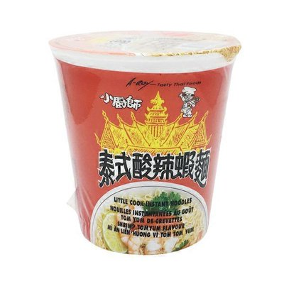 A-Roy Little Cook Cup Noodles Tom Yum Seafood Flavor