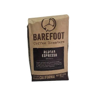 Barefoot Redcab Espresso Coffee Roasters