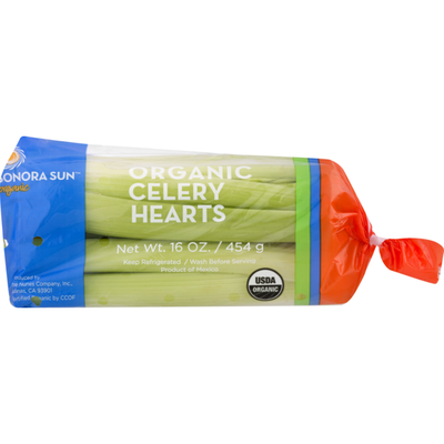 Sionora Sun Organic Celery Hearts