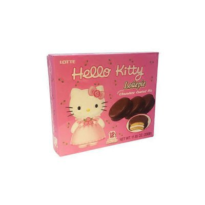 Koala's March Hello Kitty Lottepie Flavored Chocolate Coated Pie