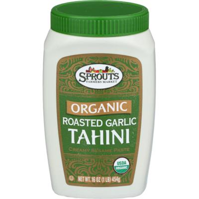 Sprouts Organic Roasted Garlic Tahini