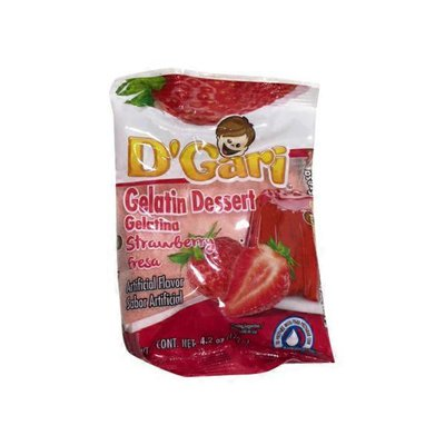 D'Gari Strawberry flavor Gelatin Dessert