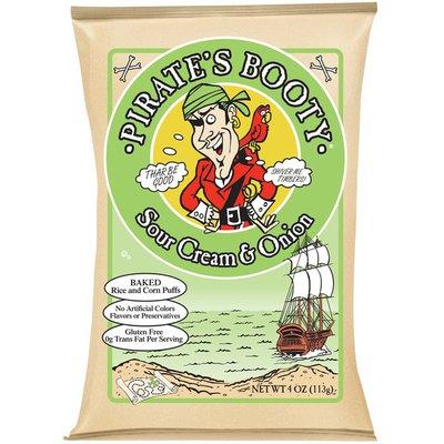 Pirate Brands Sour Cream & Onion Rice and Corn Puffs