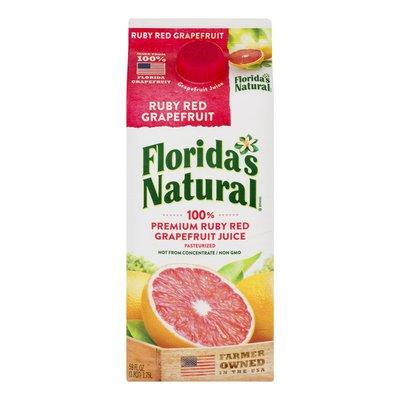 Florida's Natural 100% Juice, Ruby Red Grapefruit