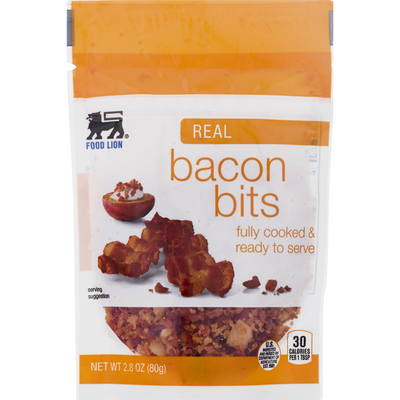 Food Lion Bacon Bits, Real