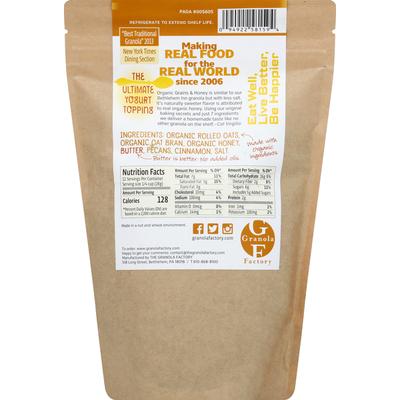 The Granola Factory Granola, Organic Grains & Honey, Honey Pecan