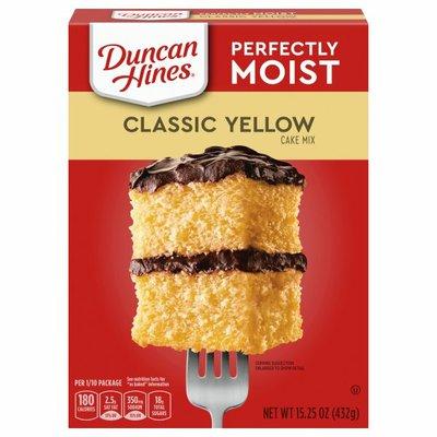 Duncan Hines Cake Mix, Classic Yellow