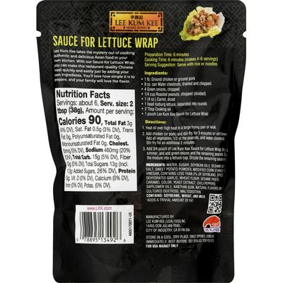 Lee Kum Kee Sauce for Lettuce Wrap