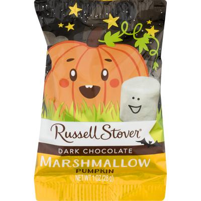 Russell Stover Marshmallow, Pumpkin, Dark Chocolate