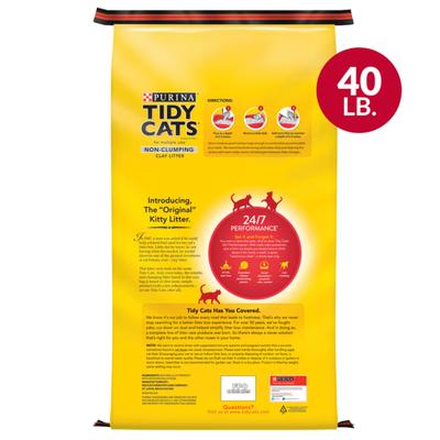 Purina Tidy Cats Non Clumping Cat Litter, 24/7 Performance Multi Cat Litter