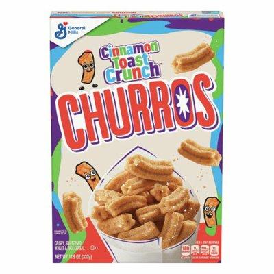 Cinnamon Toast Crunch Churros, Breakfast Cereal with Whole Grain