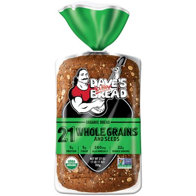 Dave's Killer Bread 21 Whole Grains and Seeds Organic Bread
