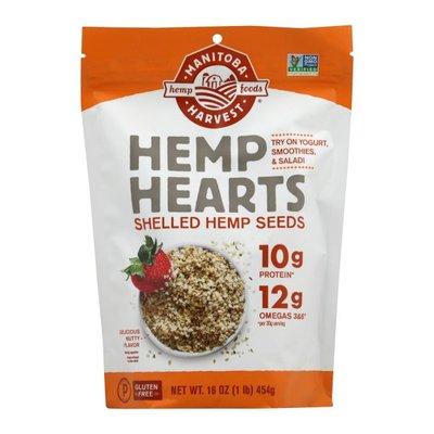 Manitoba Harvest Hemp Seeds, Shelled, Nutty Flavor