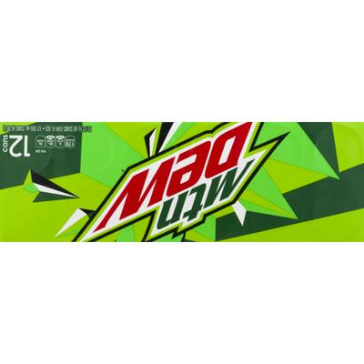 Mtn Dew Soda, Citrus
