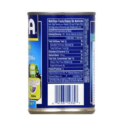 Goya Premium Black Beans, Low Sodium