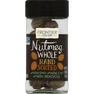 Frontier Nutmeg, Whole, Hand Sorted