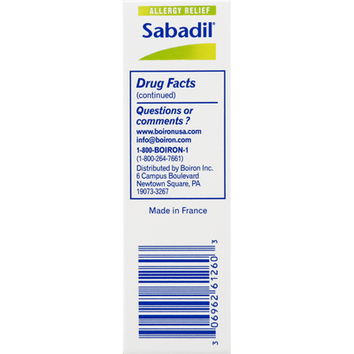 Boiron Allergy Relief, Quick-Dissolving Tablets