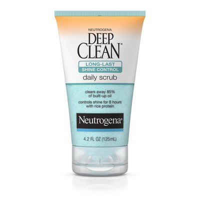 Neutrogena® Deep Clean Long-Last Shine Control Daily Scrub