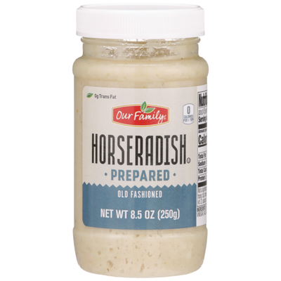 Our Family Old Fashioned Horseradish