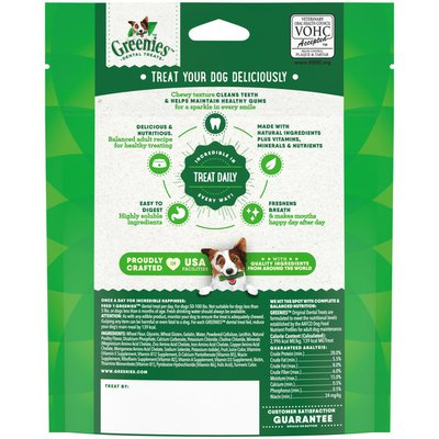 GREENIES Original Large Natural Dental Dog Treats