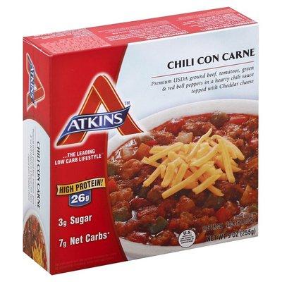 Atkins Frozen Chili Con Carne Atkins Chili Con Carne