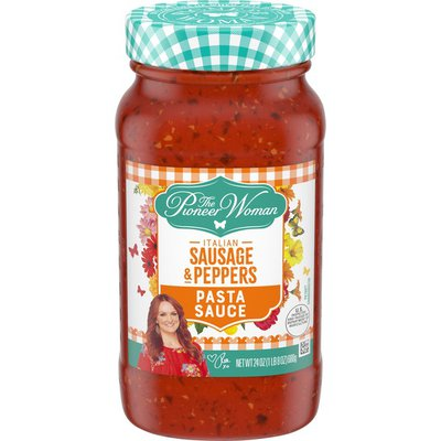 The Pioneer Woman Italian Sausage & Peppers Pasta Sauce