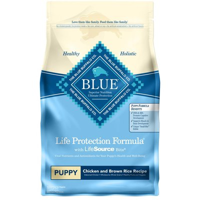 Blue Buffalo Life Protection Formula Natural Puppy Dry Dog Food, Chicken and Brown Rice