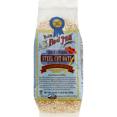 Bob's Red Mill Steel Cut Oats, Quick Cooking
