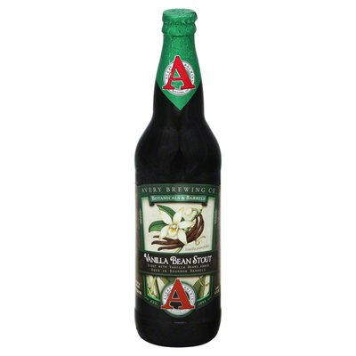 Avery Brewing Co Beer, Stout, Vanilla Bean