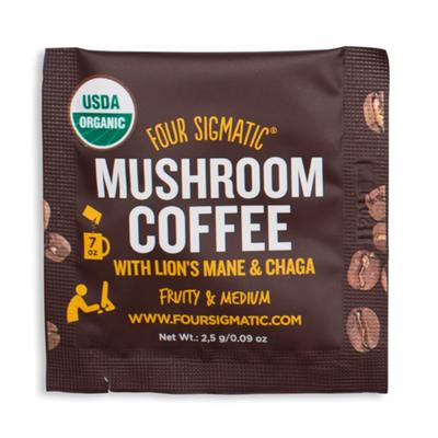 Four Sigmatic Lions Mane Mushroom Coffee Packet