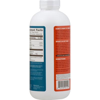 Bulletproof XCT Oil, Zero Lauric Acid